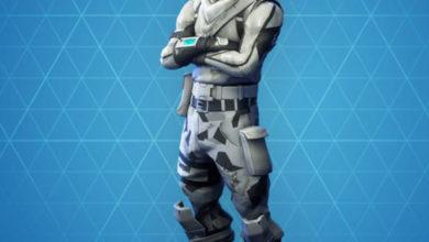 Photo of Absolute Zero Fortnite Skin