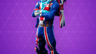 Photo of Alpine Ace (GBR) Fortnite Skin
