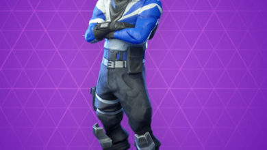 Photo of Blue Striker Fortnite Skin