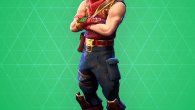 Photo of Crimson Scout Fortnite Skin