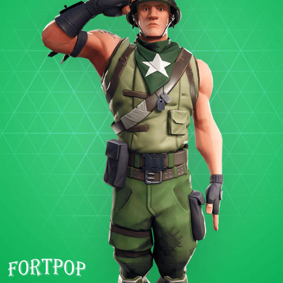 Photo of Munitions Major Fortnite Skin
