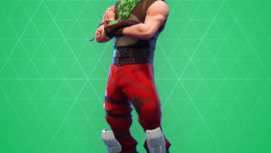 Photo of Red Nosed Ranger Fortnite Skin