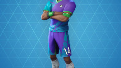 Photo of Super Striker Fortnite Skin