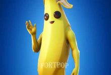 Photo of Peely Fortnite Skin