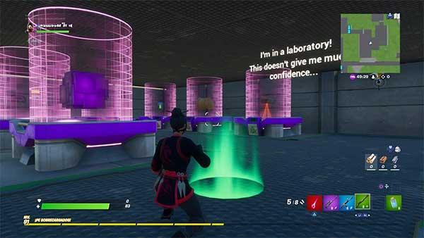 Area 51 - Find The Button - Escaperoom