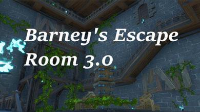 Barney's Escape Room 3.0