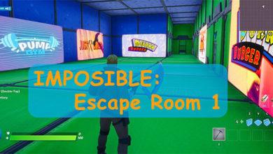 Imposible: Escape Room 1