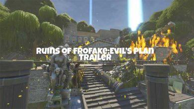 Ruins Of Frofake: Evil's Plan